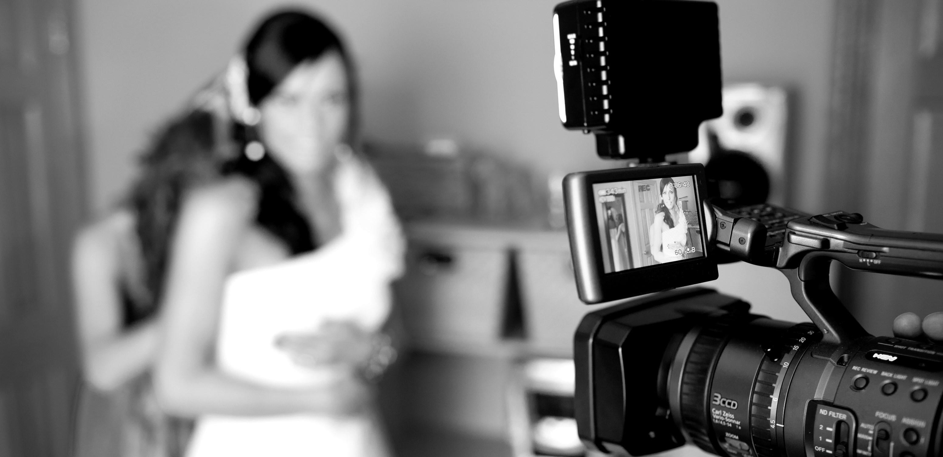 Профессиональный оператор видеосъемки на свадьбу