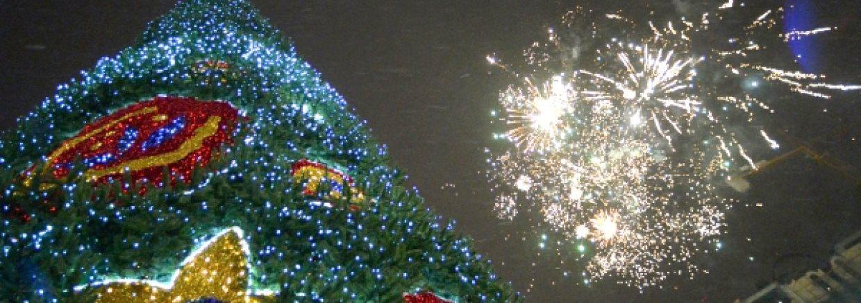 Новогодняя съемка видео