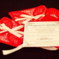 Подарочный сертификат на видеосъемку