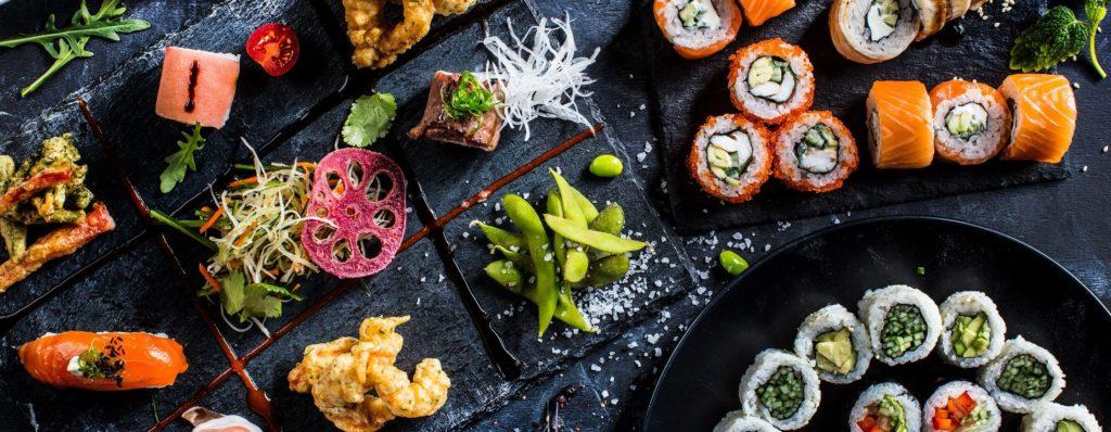 Фуд съемка суши