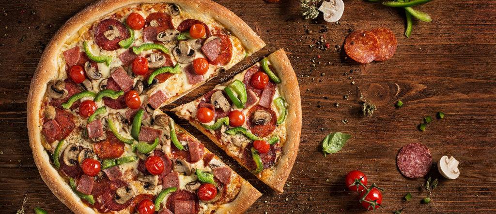 Фуд съемка пиццы