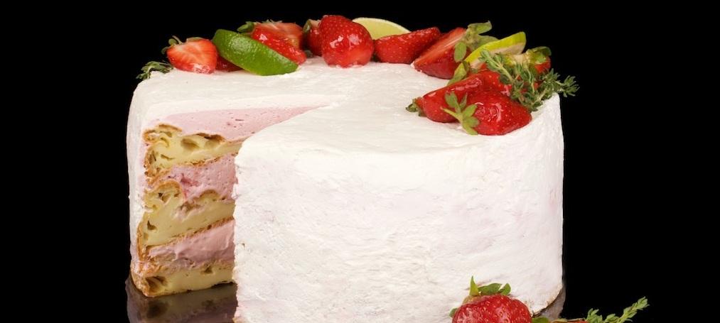Фуд съемка тортов
