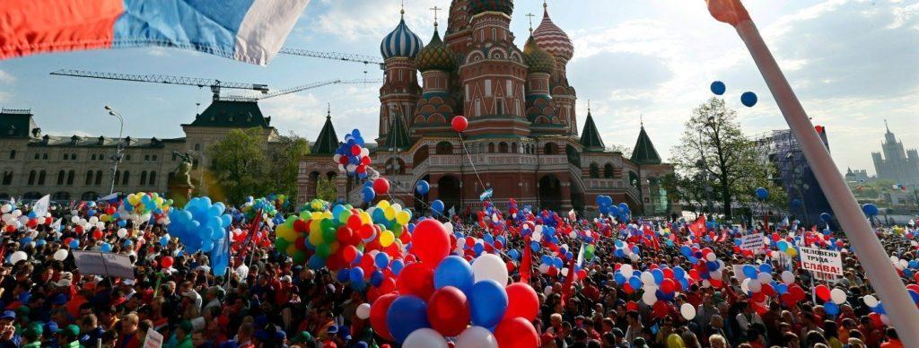 Видеосъёмка на День России