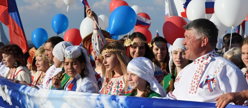 Видеооператор на День России