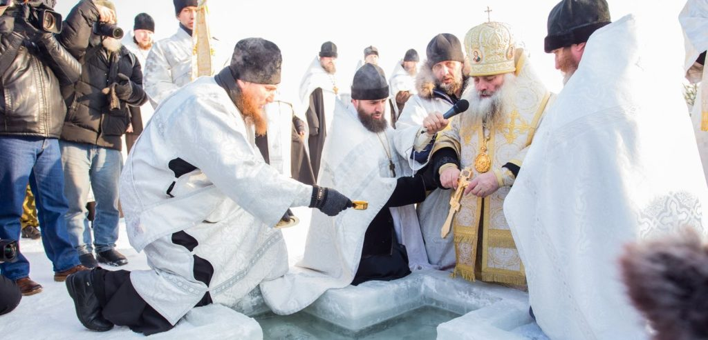Видеосъёмка на Крещение Господне